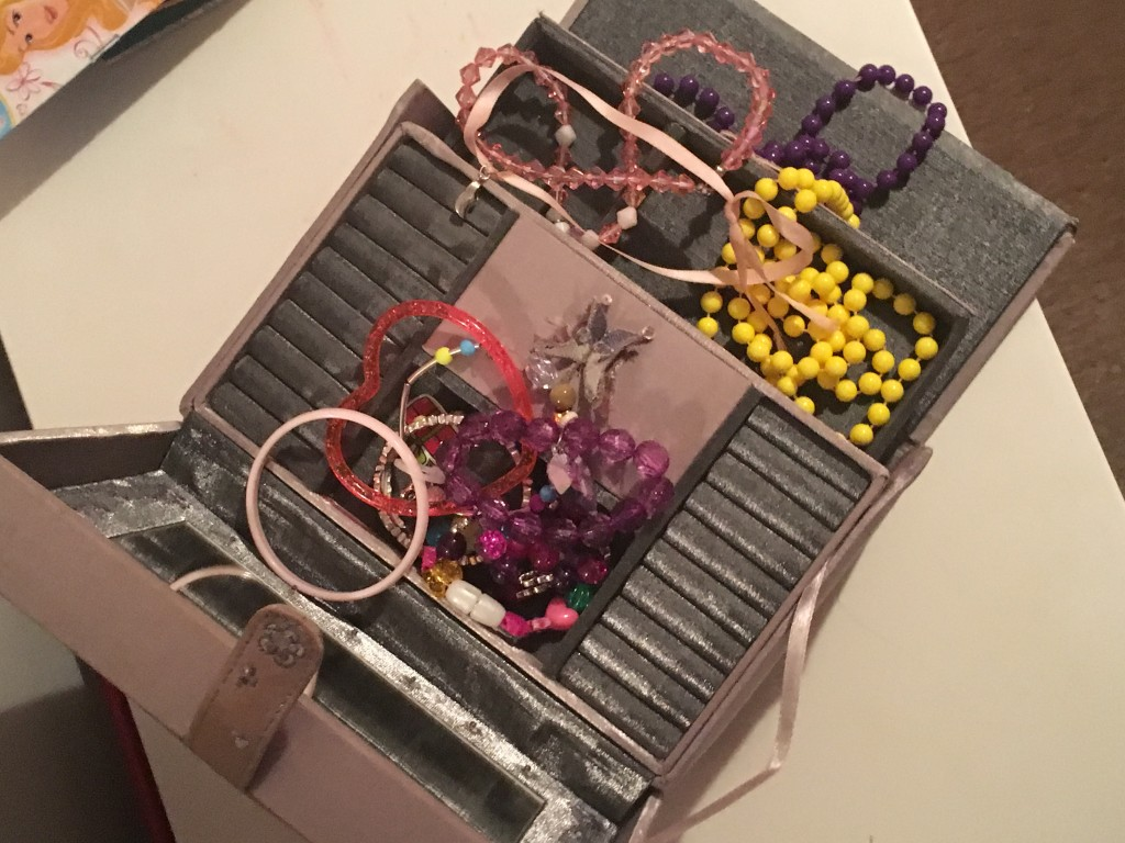 The overflowing jewellery box