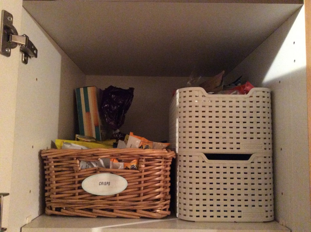 Cupboard with snacks