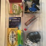 Sorting the junk drawer