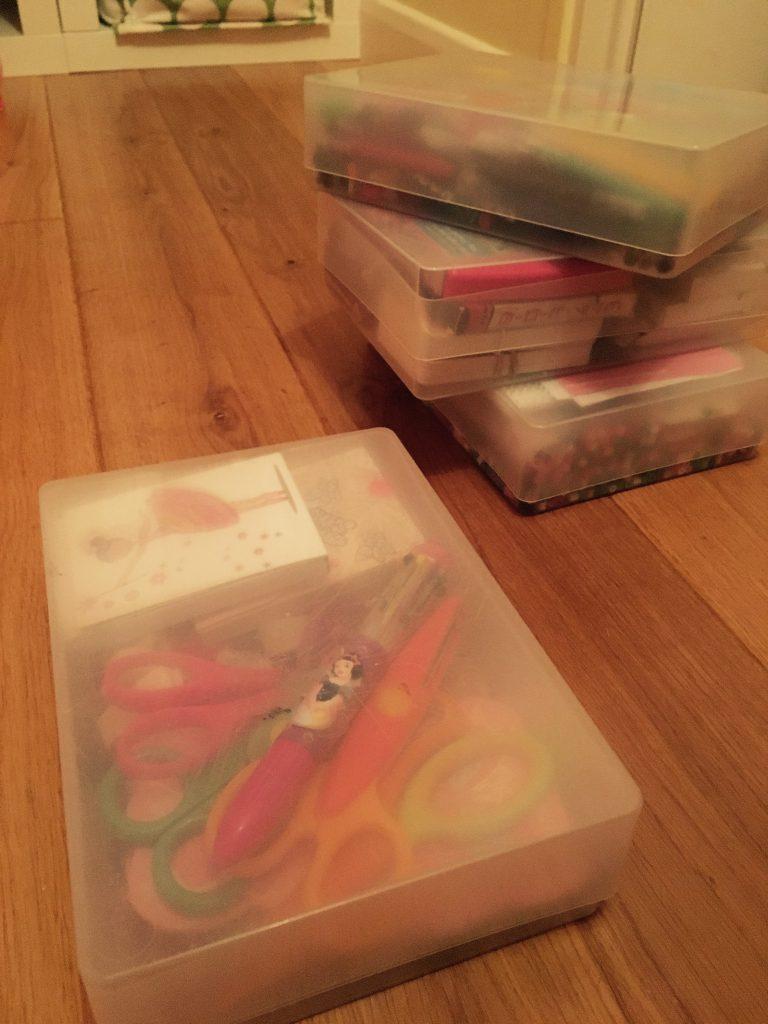Plastic Storage boxes 3