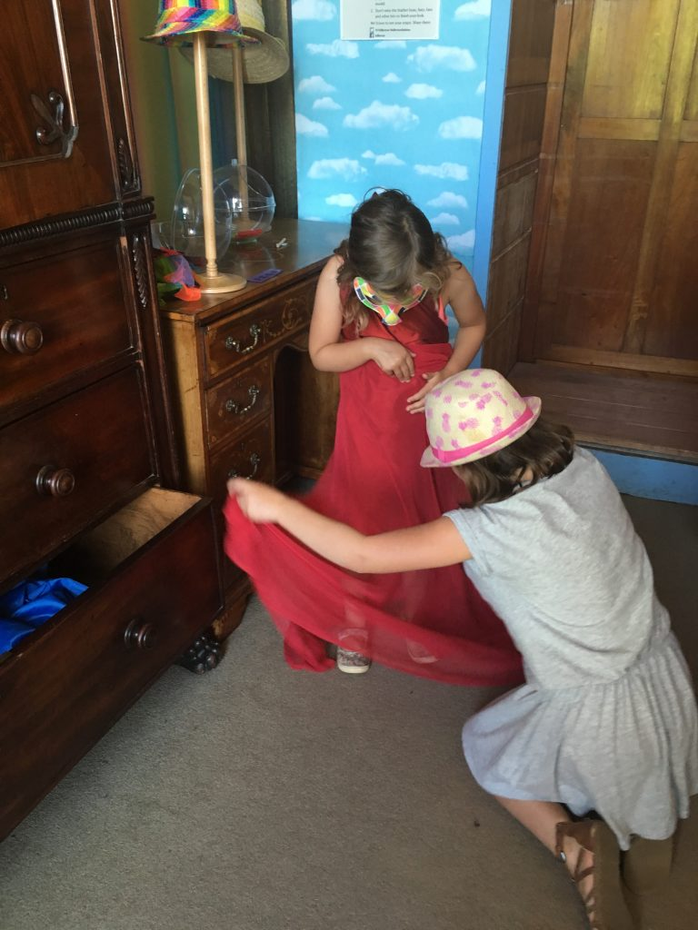 Dressing up fun at Killerton