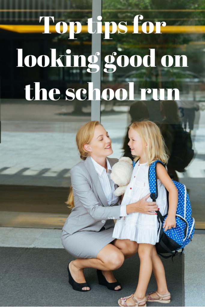 Looking good on school run