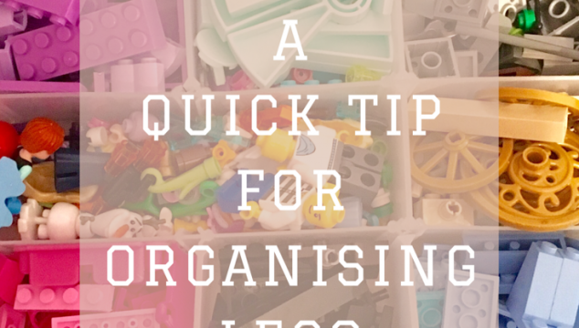 A quick organising tip for Lego