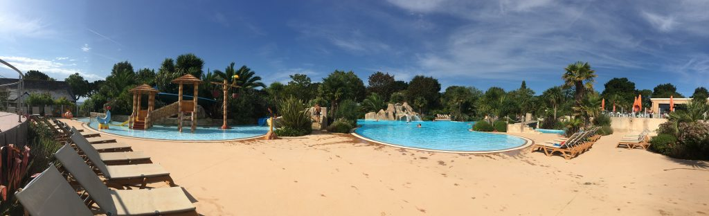 swimming pool at Camping du Letty