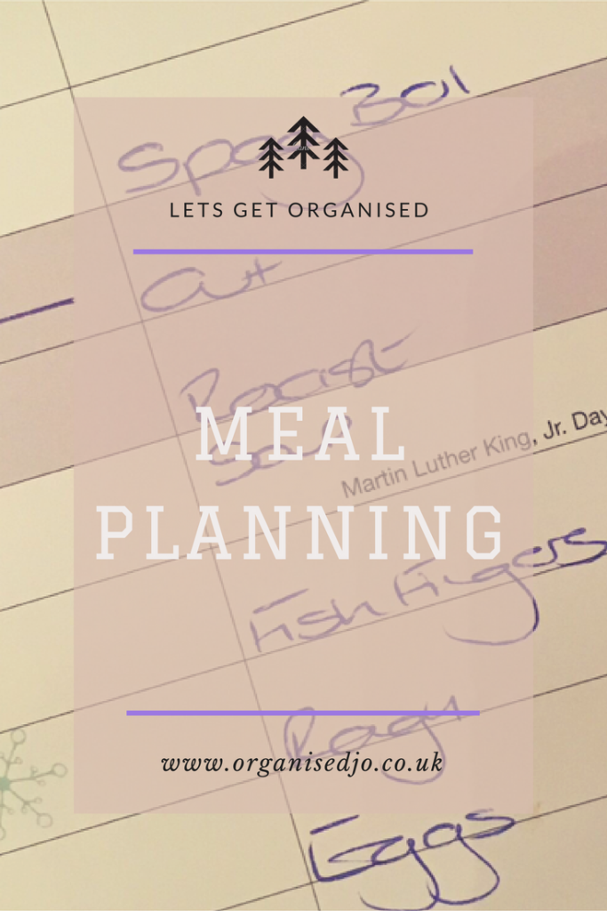 Being a busy working mum I need a way of meal planning so we all got a decent meal at the end of our busy days. I now plan our meals every week using the help of a shopping list and a calendar. Click to see how I do it.