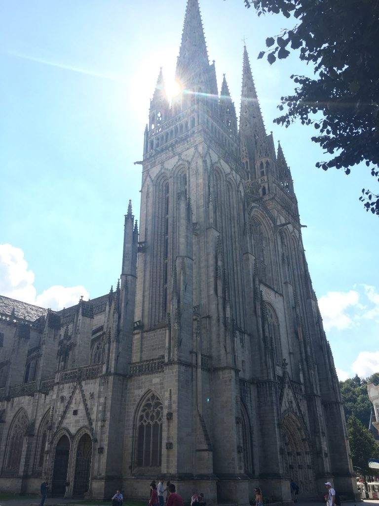 Cathedral at Quimper