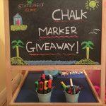 Stationery Island Chalk Board Pens & Giveaway!