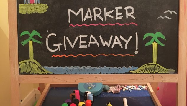 Stationery Island Chalk Board Pens & Giveaway!