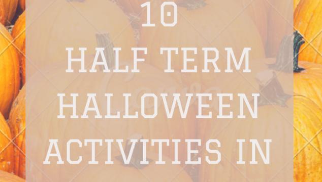 10 October half term & Halloween activities in south Devon