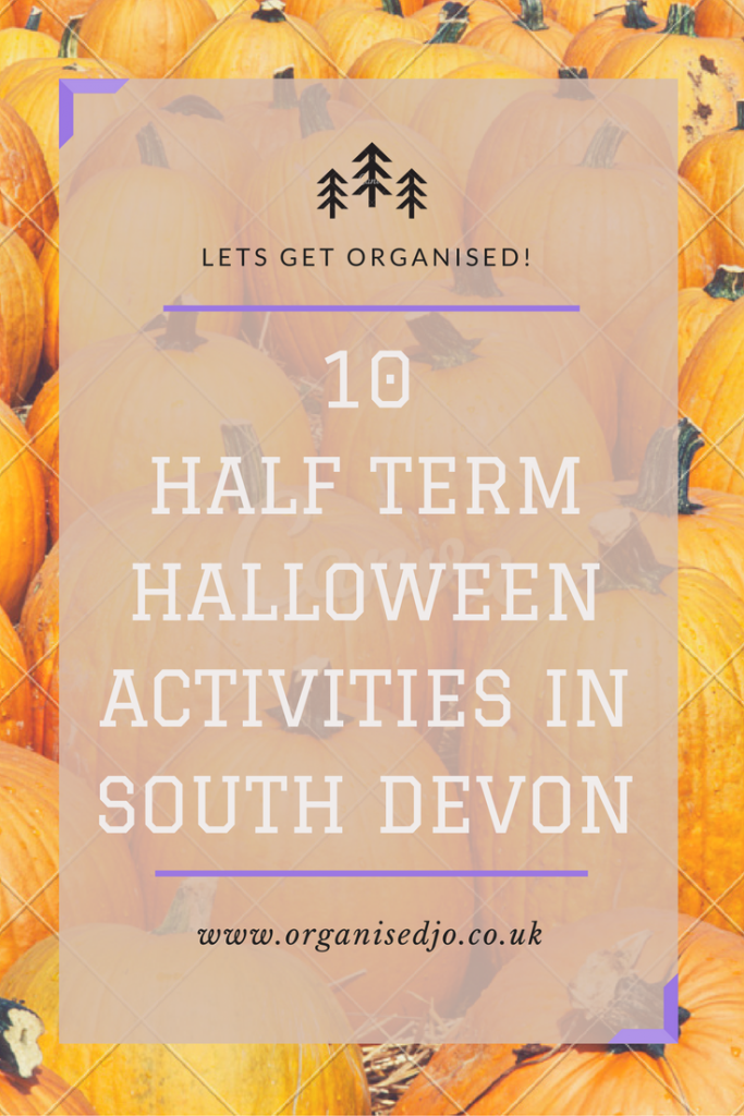 10 October half term & Halloween activities in south Devon