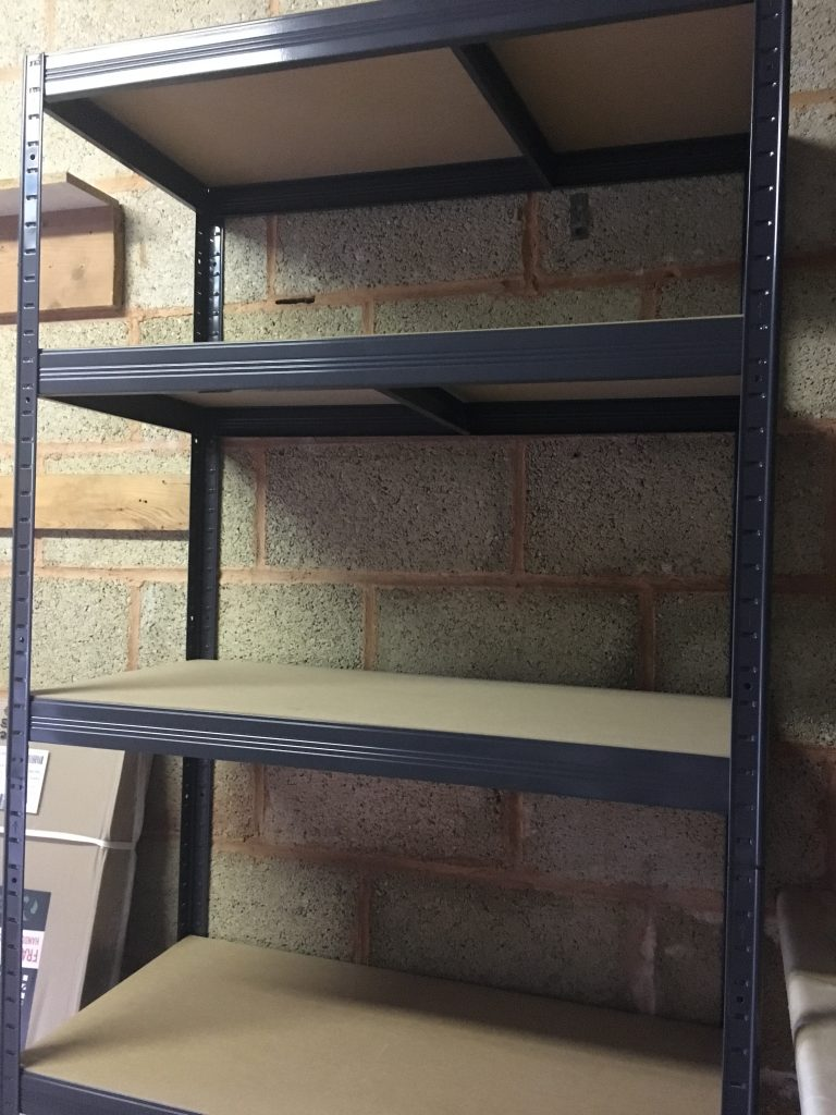 Tufferman shelving