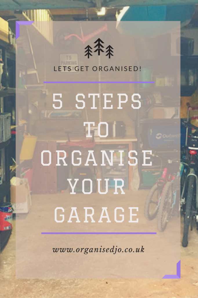 5 steps to organise your garage