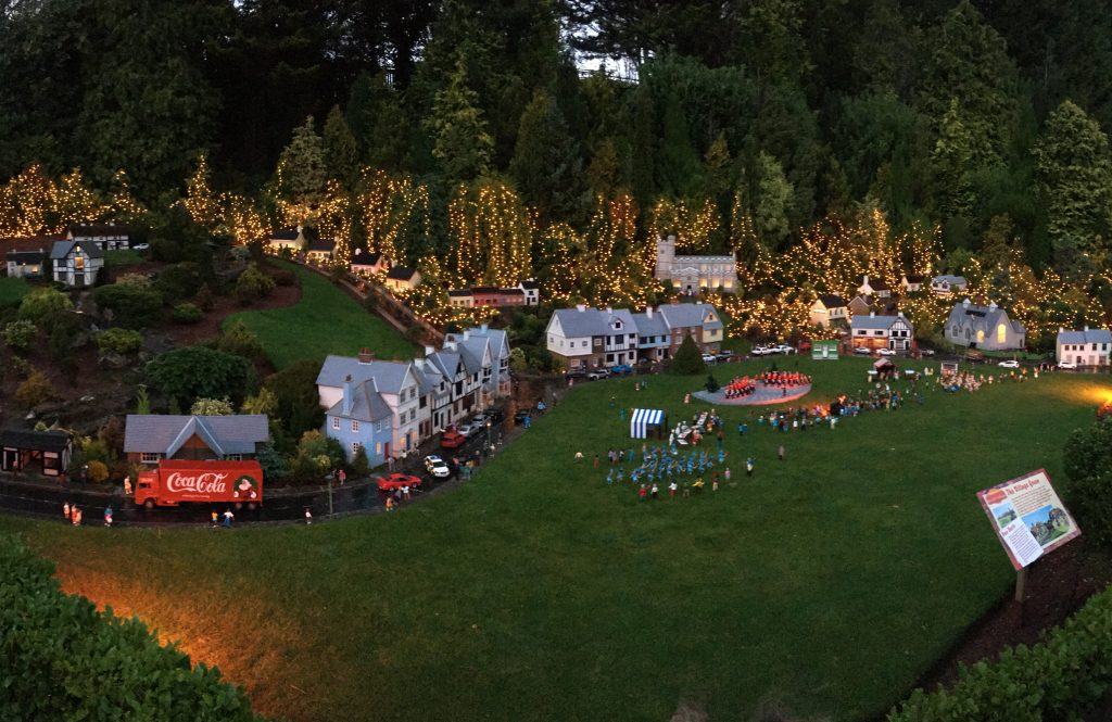 Lights switched on at Babbacombe Model Village Christmas event