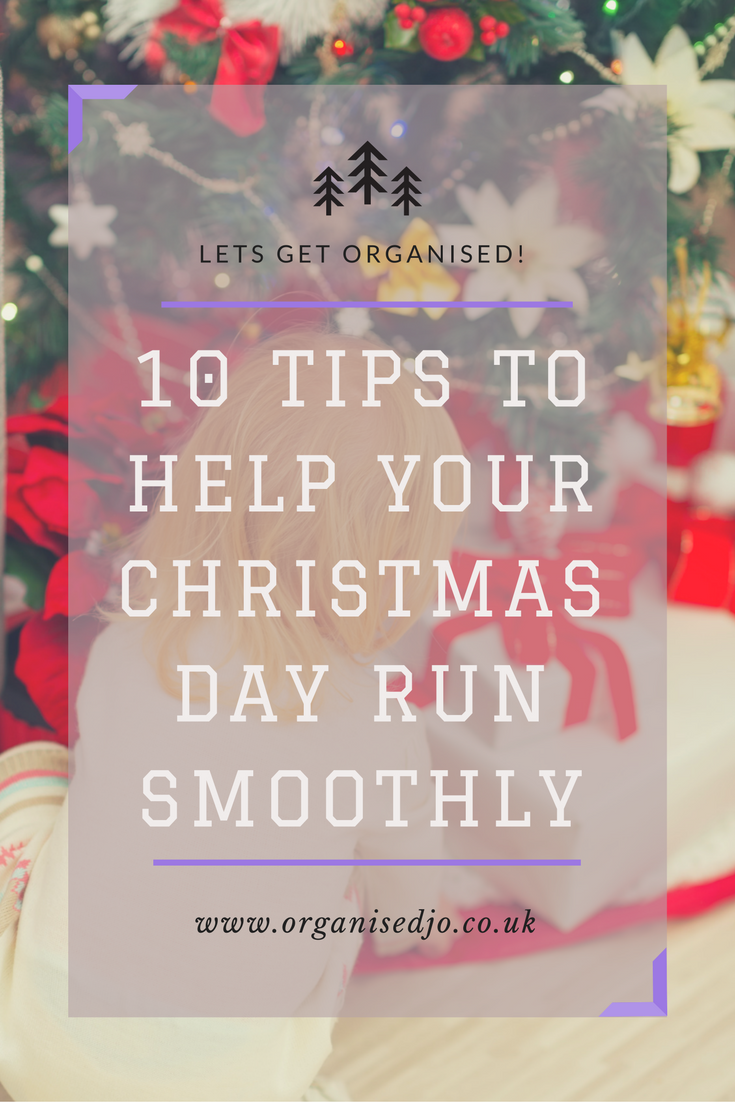 10 tips to help your Christmas Day run smoothly