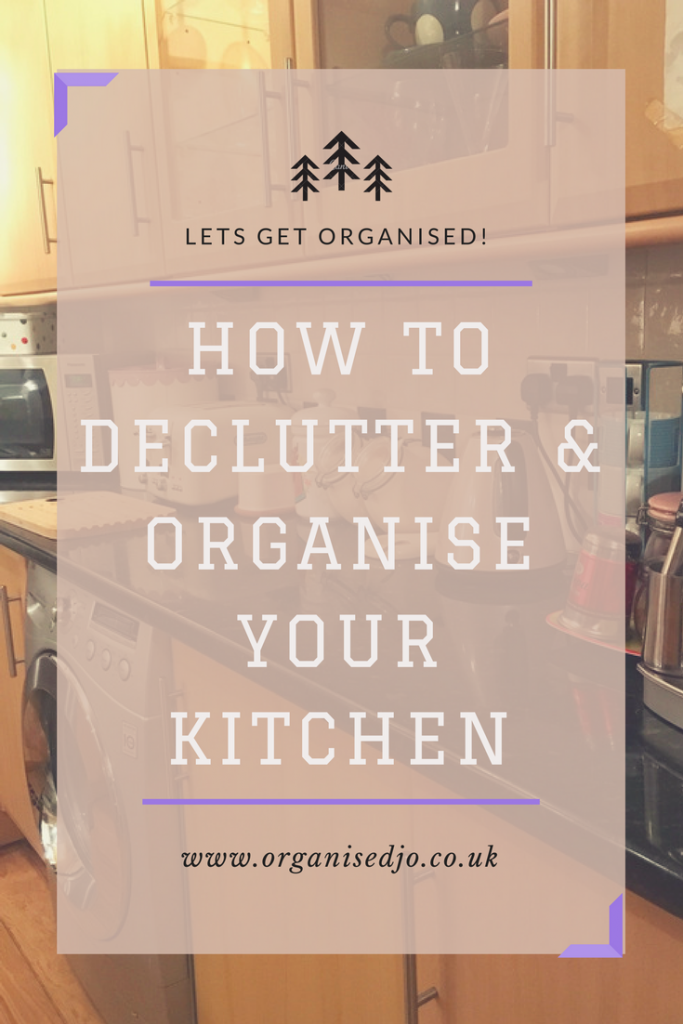 How to declutter and organise your kitchen