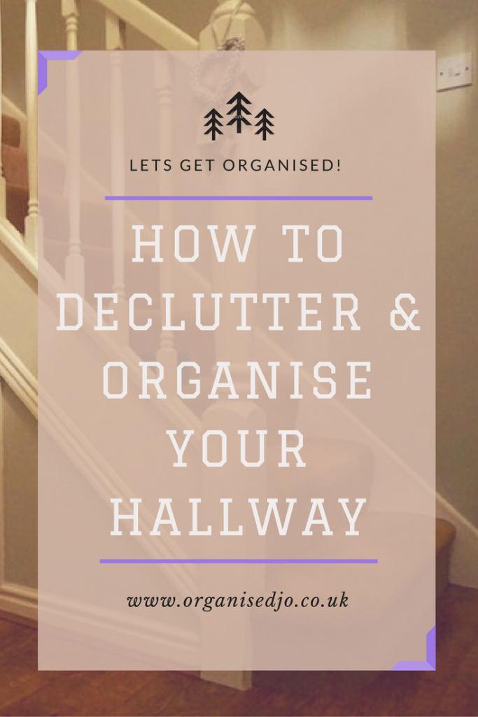 How to declutter and organise your hallway