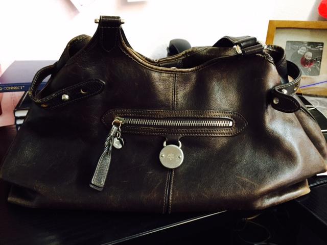Hatties work bag is Mulberry