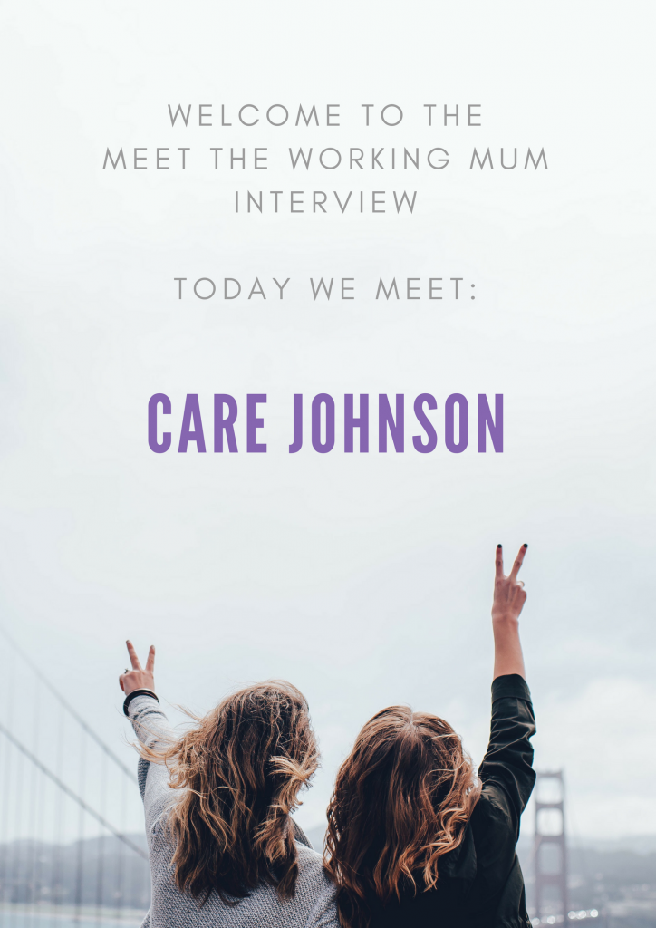 Welcome to the latest Meet the Working Mum interview