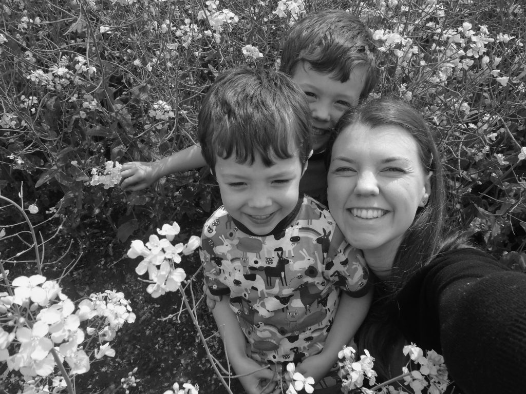 Meet the Working mum, Laura Jones. Laura blogs at Mummy Lauretta