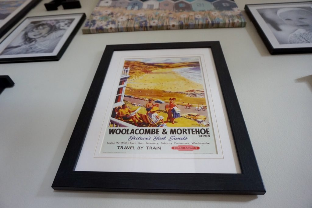 The print of Woolacombe
