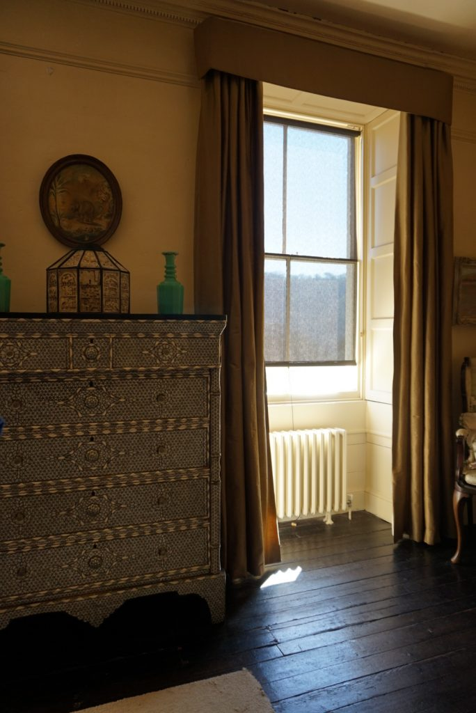 Agatha Christies bedroom at Greenway
