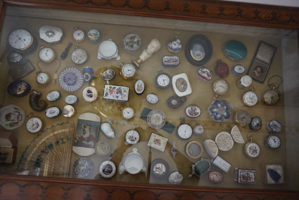 Some of the collections that can be found at Greenway