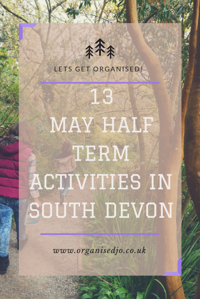 13 May Half Term Activities in South Devon