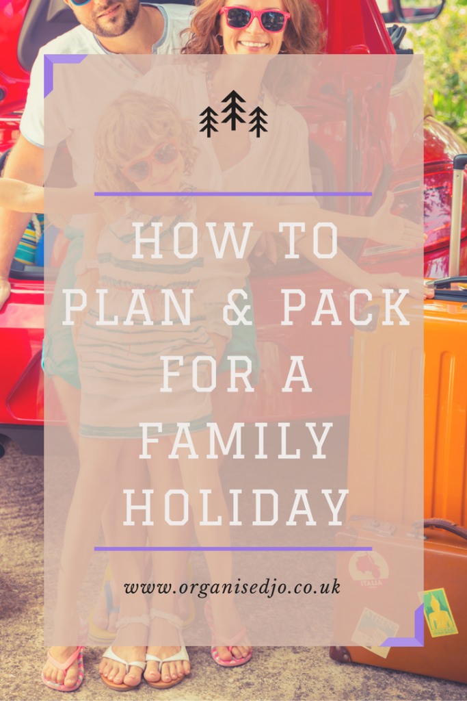 Planning and getting organised for a holiday can be hard work. Take a look at how I get organised and pack for our family four.