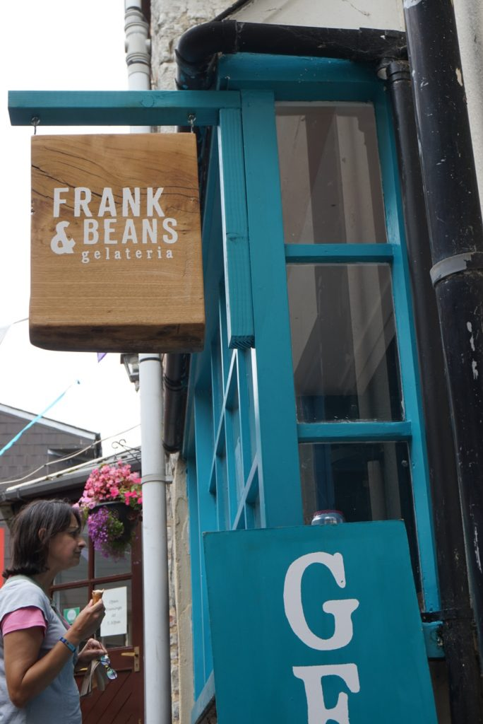 The best ice cream shop in Lyme Regis Frank & Beans