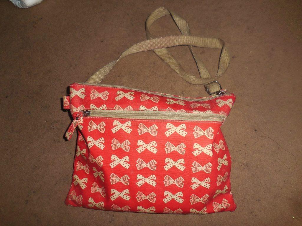 This is Jade's work bag