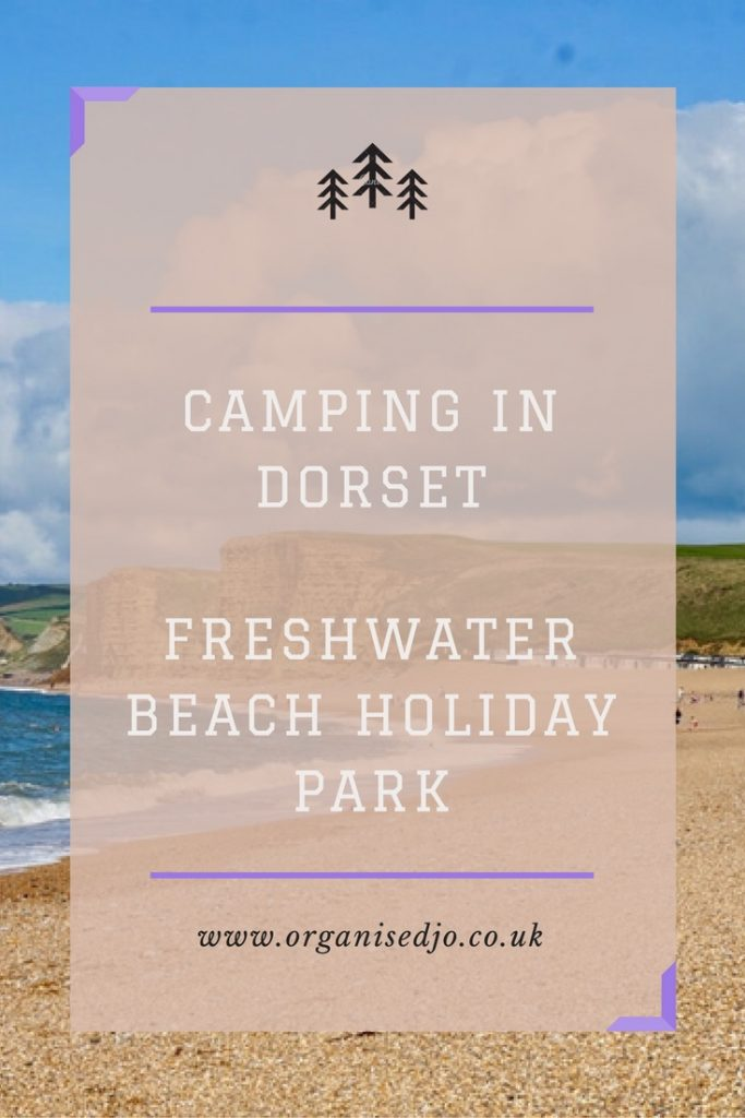 Camping in Dorset at Freshwater Beach Holiday Park